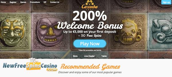 Casimba Casino Bonus WildSlots -741451