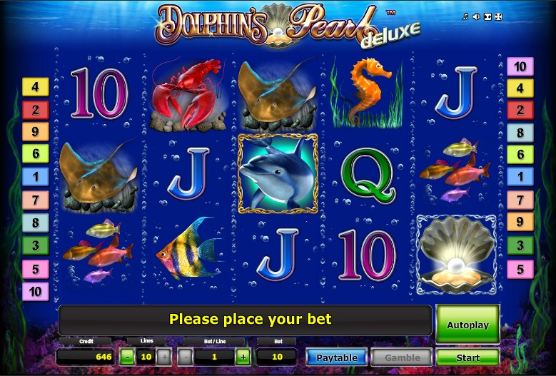 Dolphins Pearl Deluxe -44723