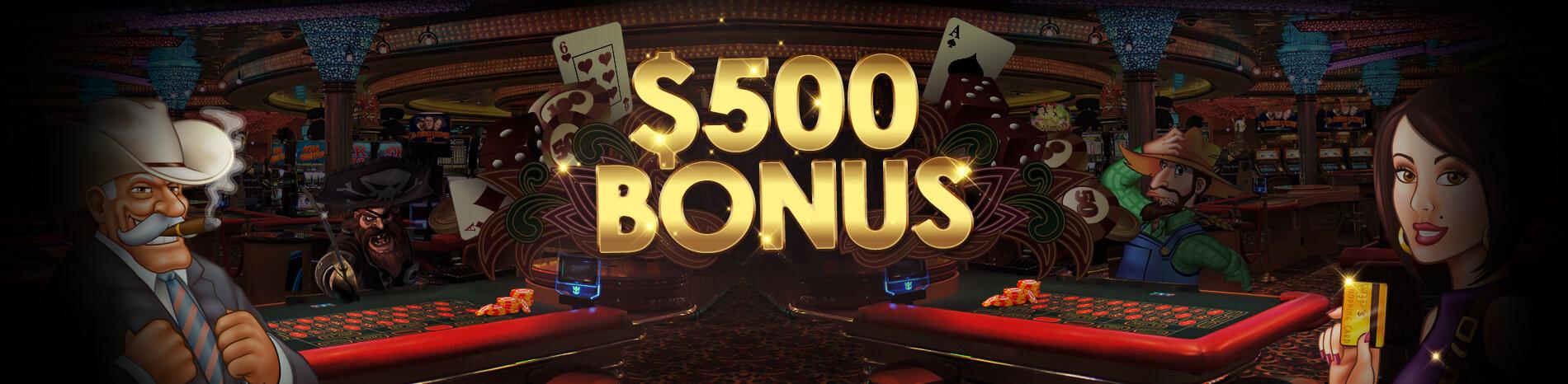 500 Casino Bonus -474475