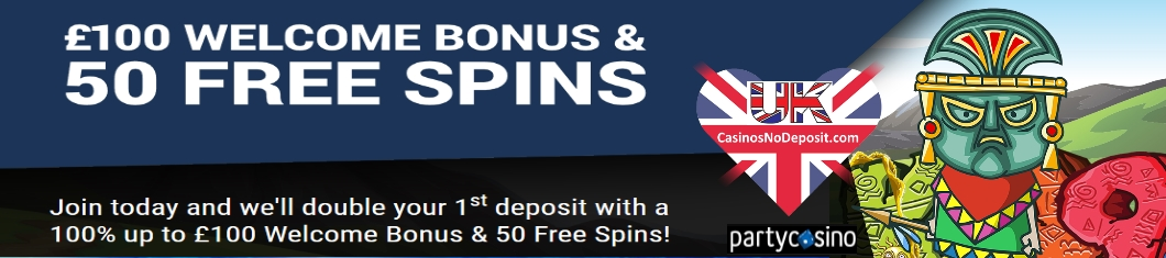 Party Casino free Spins -145071