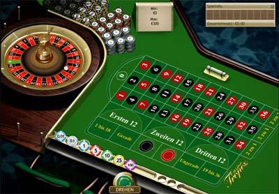 Roulette Tisch -854602