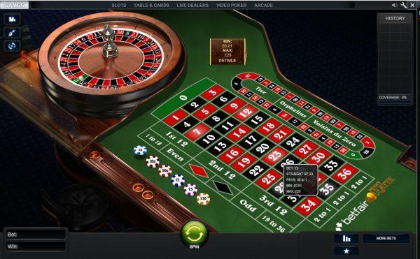 Betfair Arcade Einfache Chancen Roulette -817038