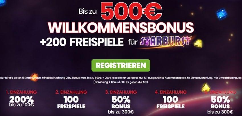 500 Casino Bonus -520584