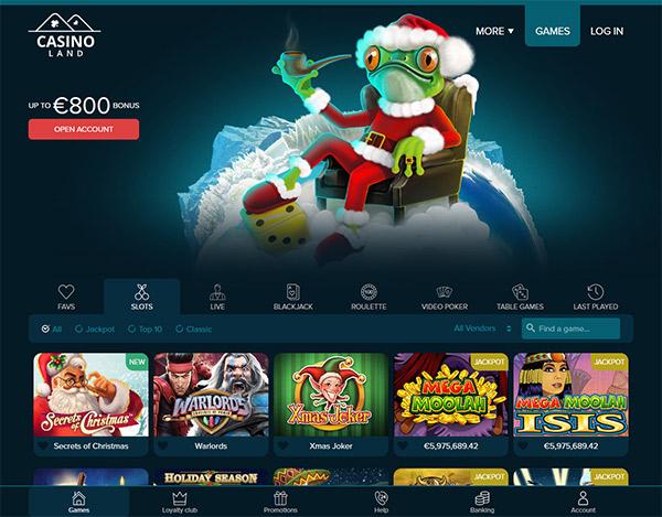 Nigeria Wettanbieter Casino CasinoLand -63252