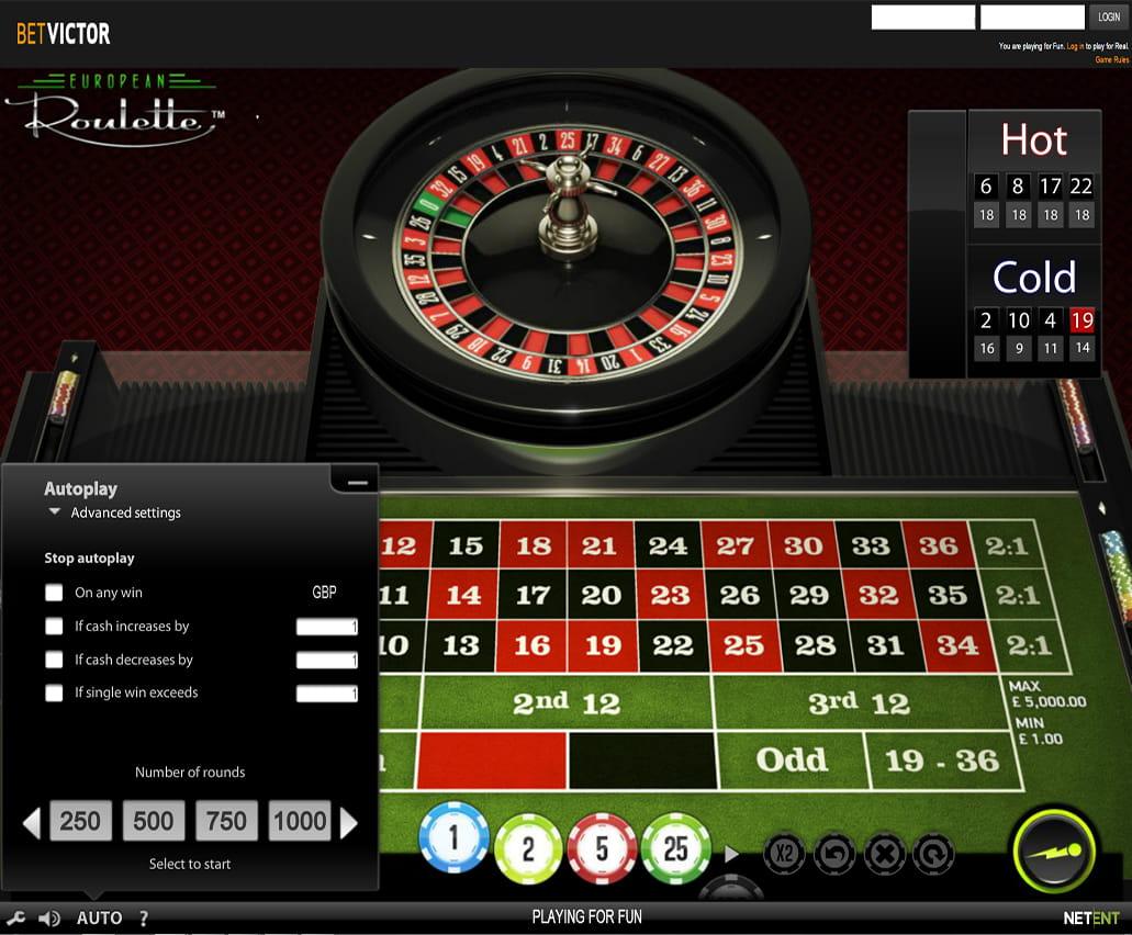 European Roulette online spielen -527633