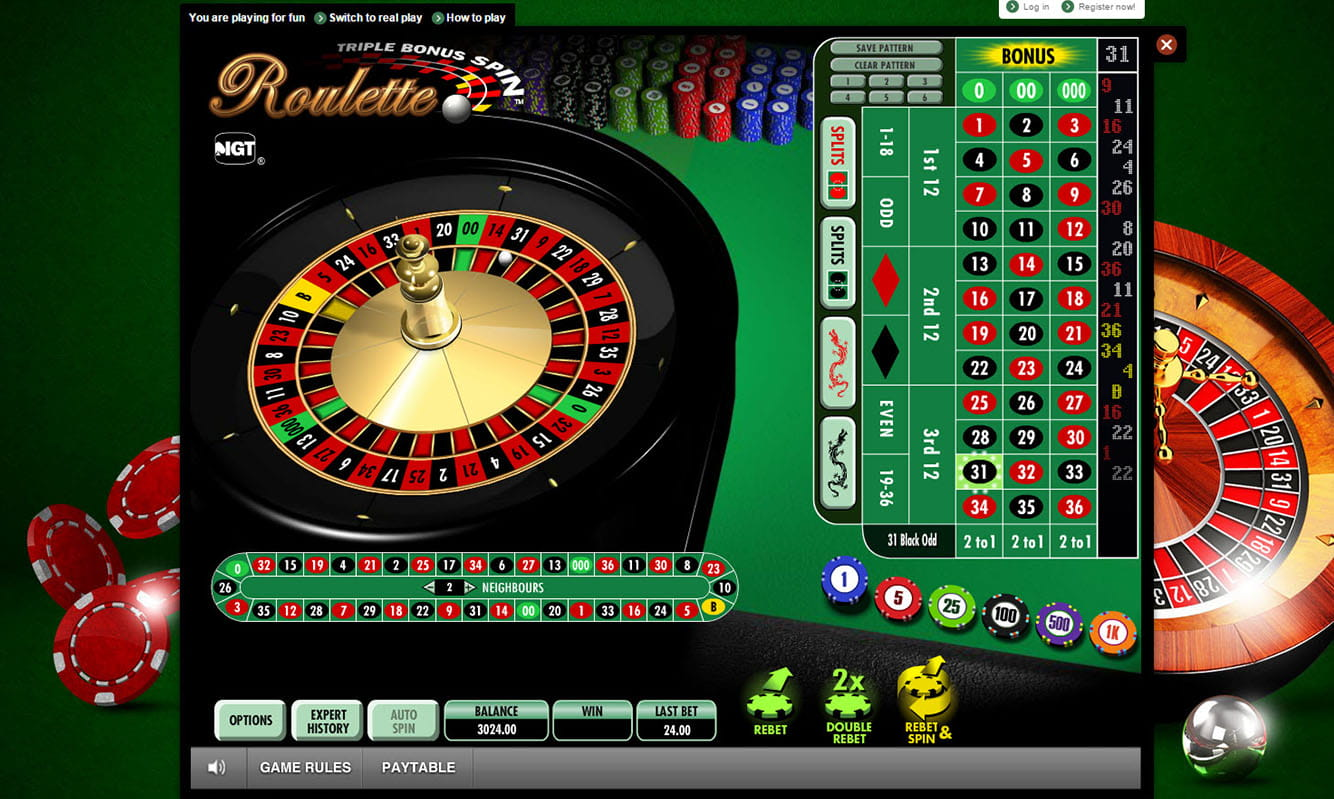 Roulette System -86832