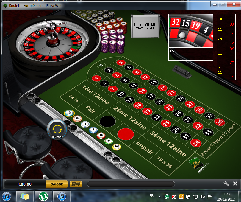 Rubbellose Gratis Rot Schwarz Roulette -492609