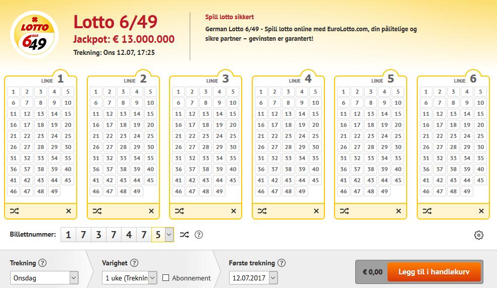 Beste Zahlenreihe Eurojackpot