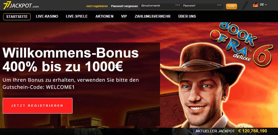 Spielen 77 Jackpot -887007