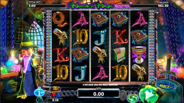 Merlin Magic Respins online Casino -461154