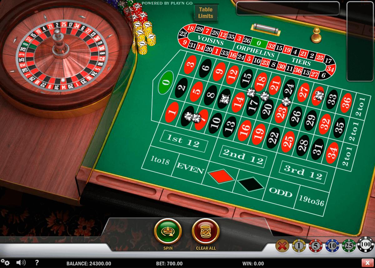 Roulette Tisch Verantwortungsbewusstes Spielen -222999