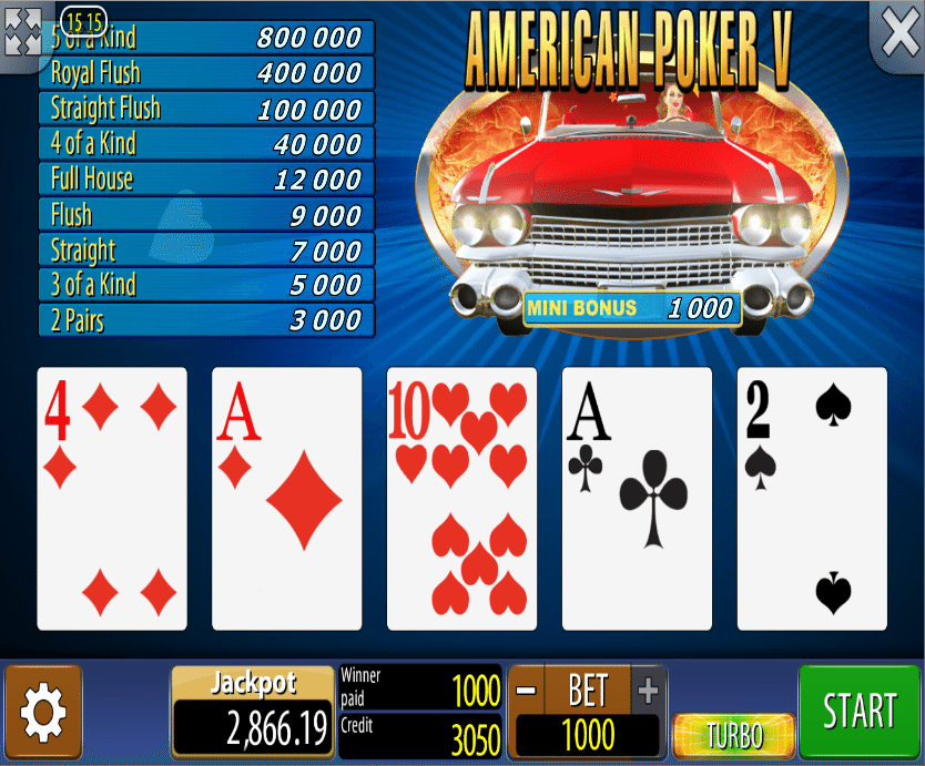 American Poker 2 download -71412