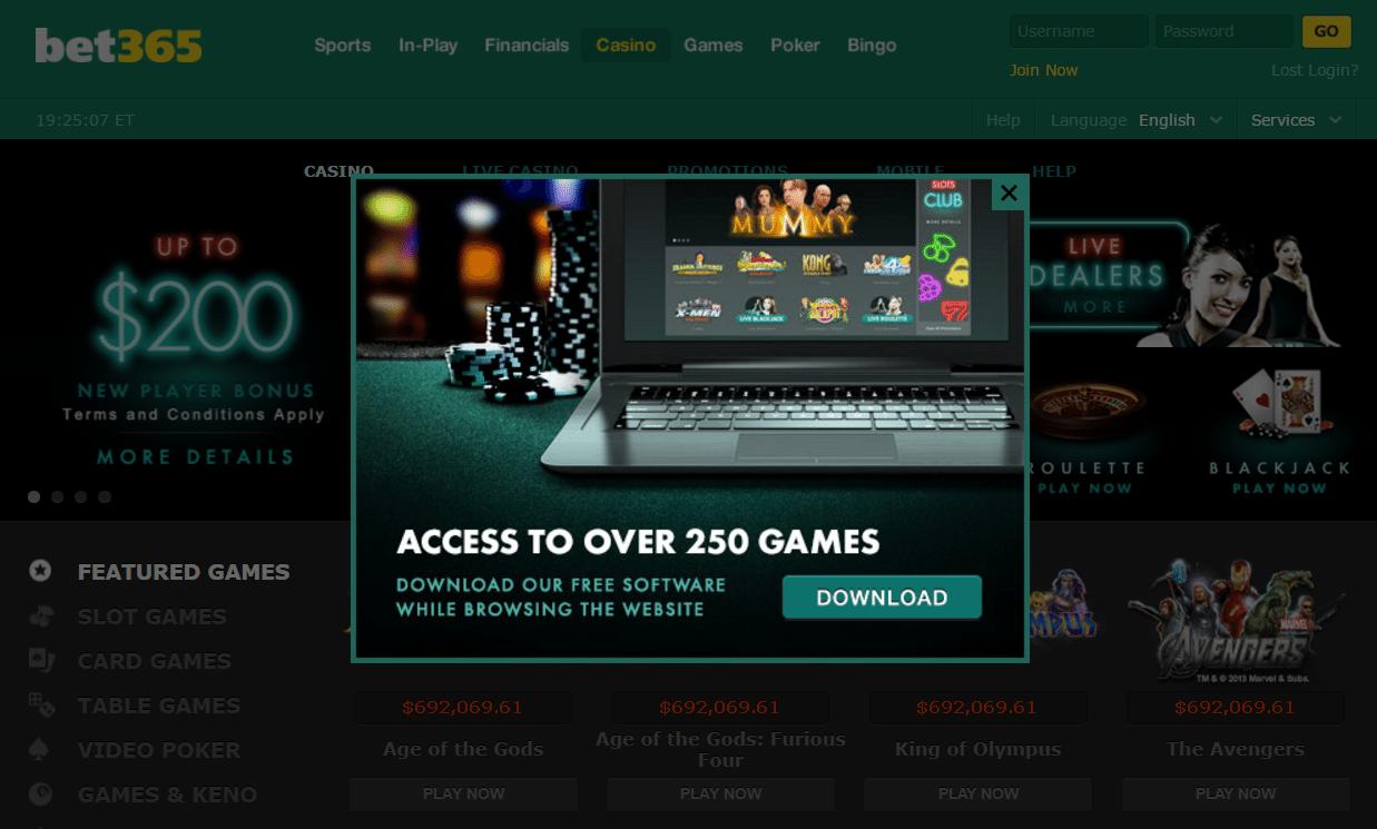 Bet 365 Casino -152935