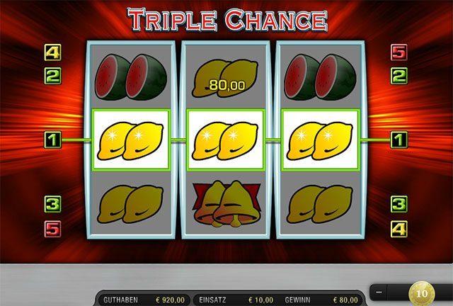 Triple Chance kostenlos -130554