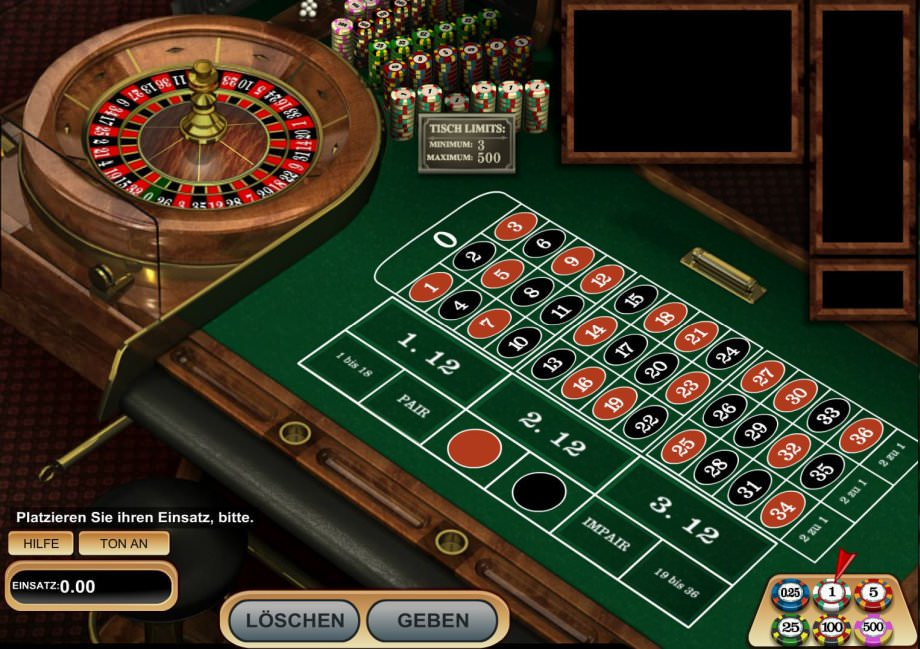 Europäisches Roulette Regeln -960491