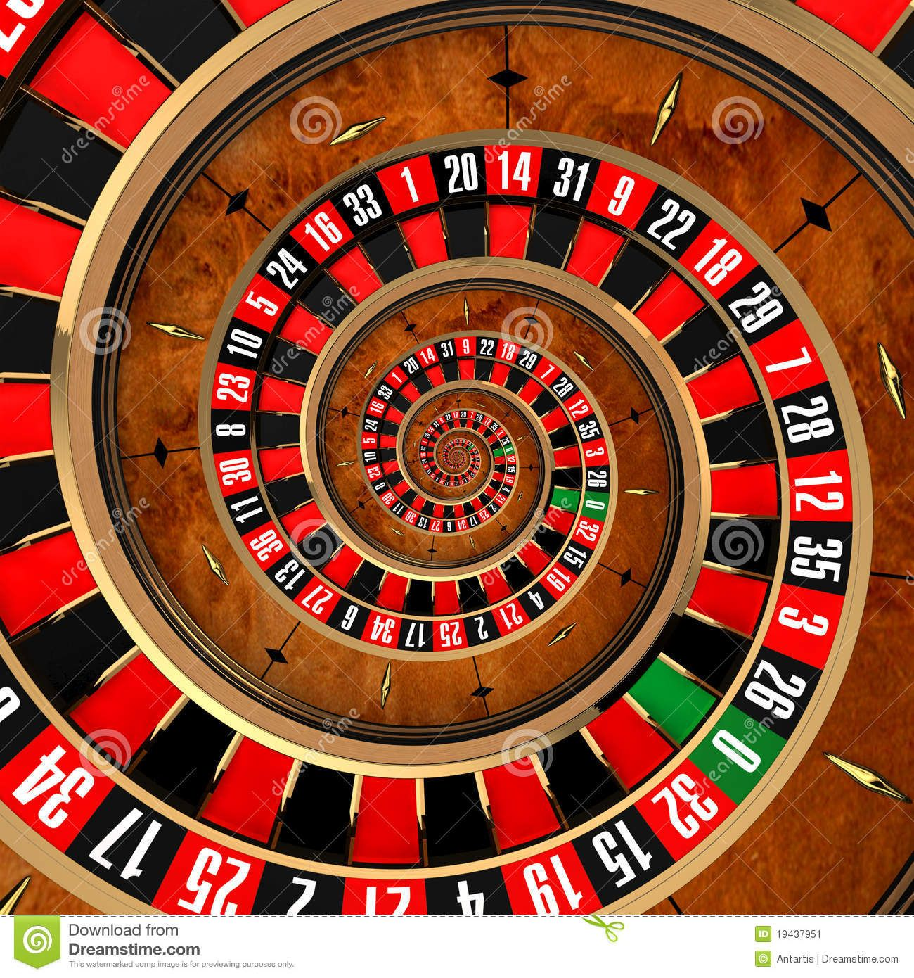 Roulette Tisch 40 -584471