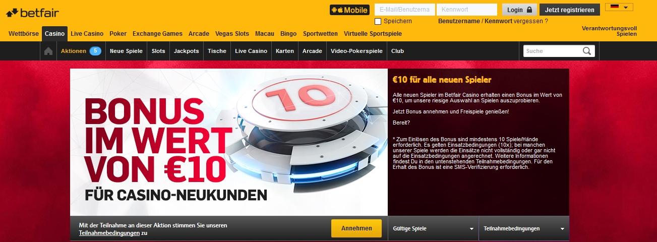10 euro Bonus ohne Einzahlung -844250