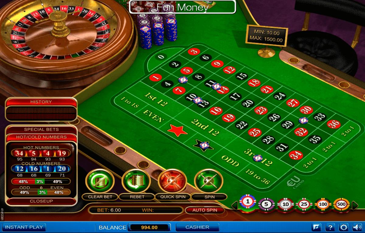 European Roulette online spielen -192944