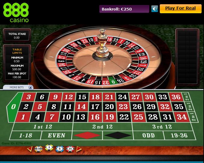 Roulette 0 -290850