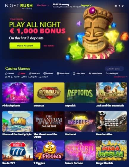 Night in Casino -518053