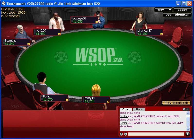 WSOP Poker online -967180