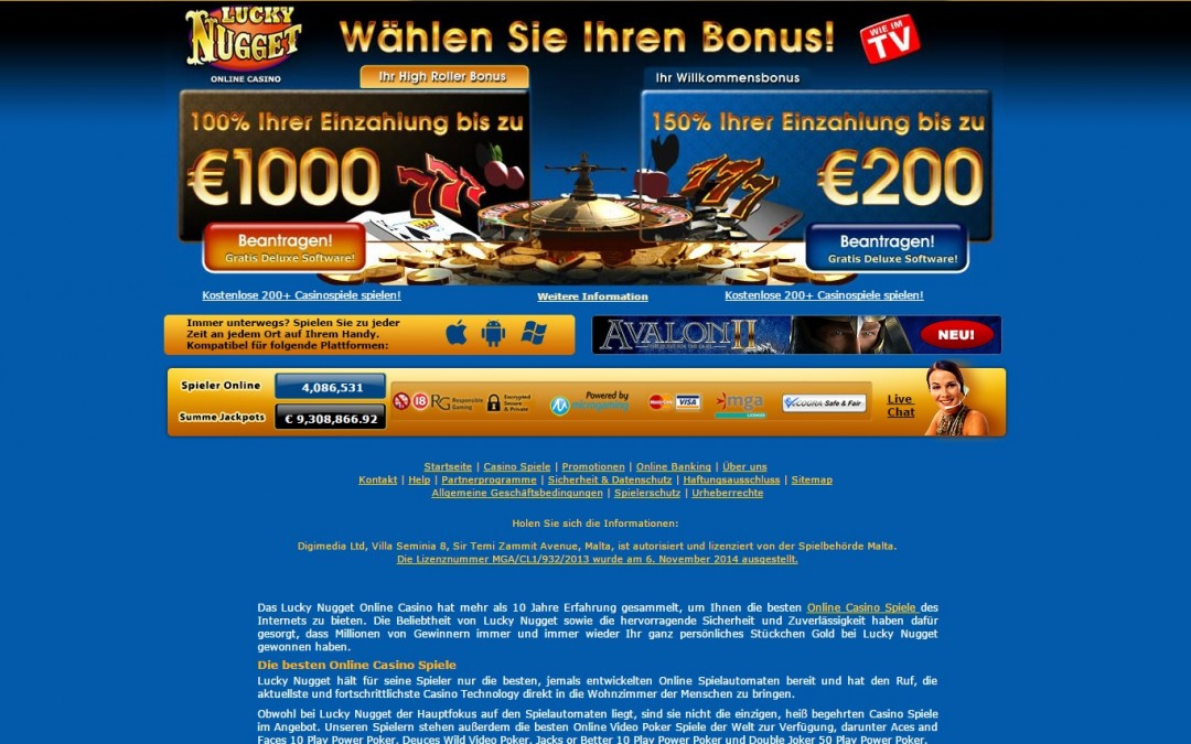 Noble Casino Geld Auszahlen