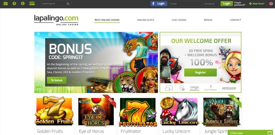 Best online Casino Bonus Lapalingo -995733