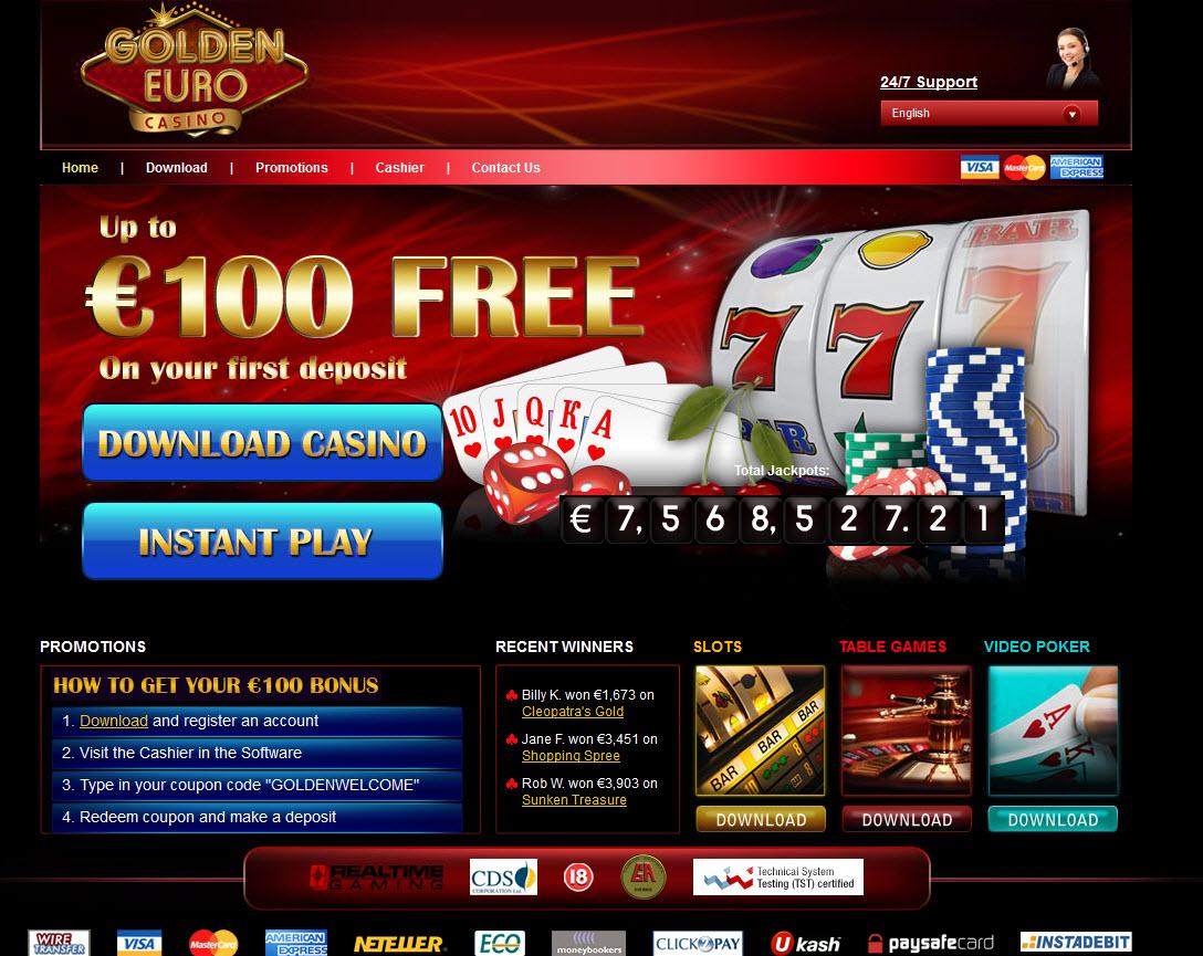 Verifizierung Casino Golden Euro -108350