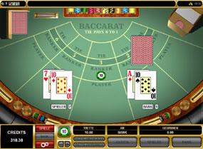 Online Casino Test Baccara Kartenspiel -927421
