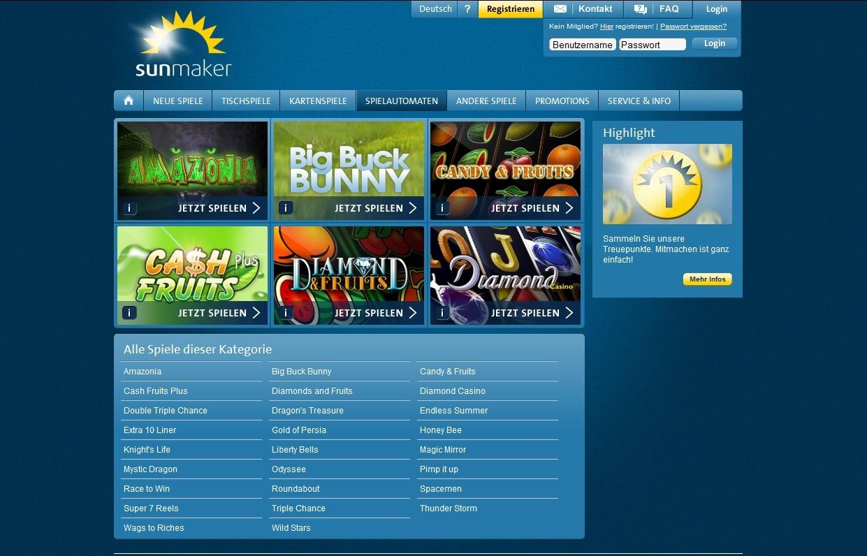 Online Casino Automat Sunmaker -913796