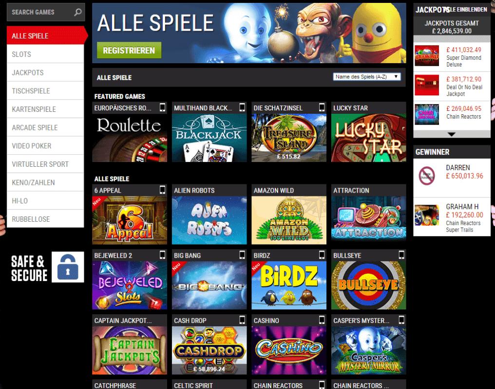 Unbekannte online Casinos -936746