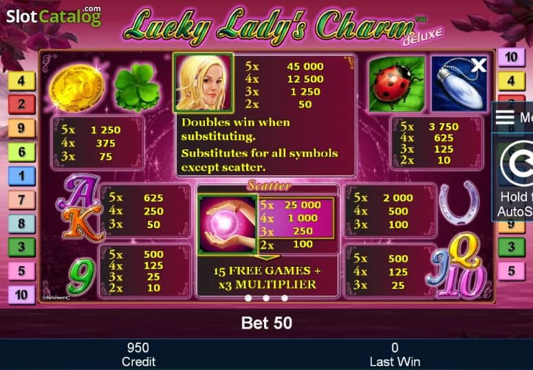 Lucky Lady Charm 6 -488002