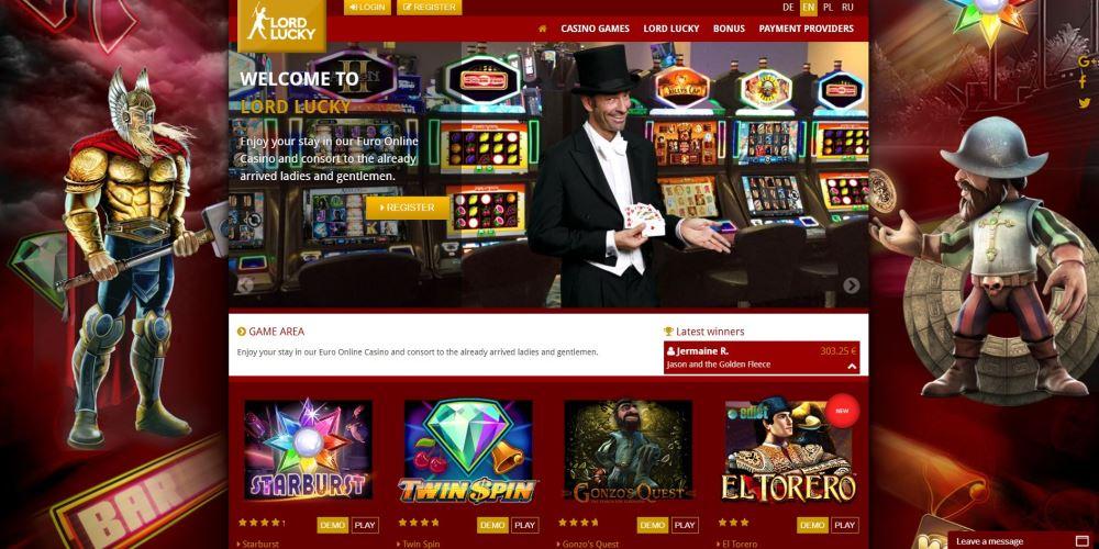 Trinkgeldhöhe beim Casino Lord Lucky -839873