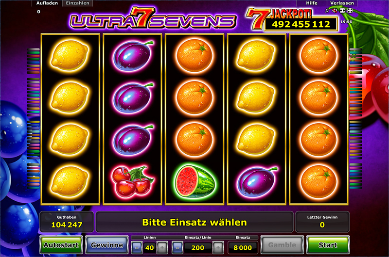 Ultra Sevens online -709920