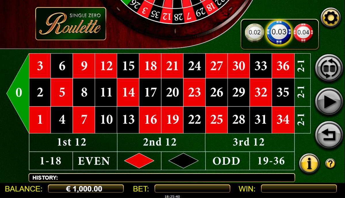 Roulette 0 -366898