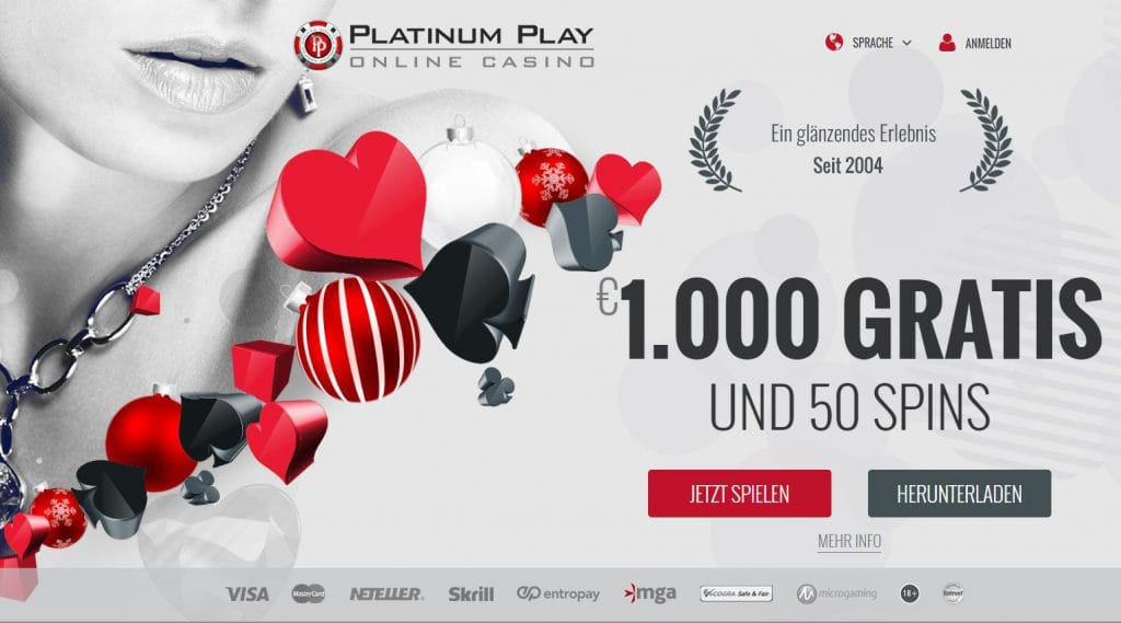 Casinogeldbote bonus Platinum -967989