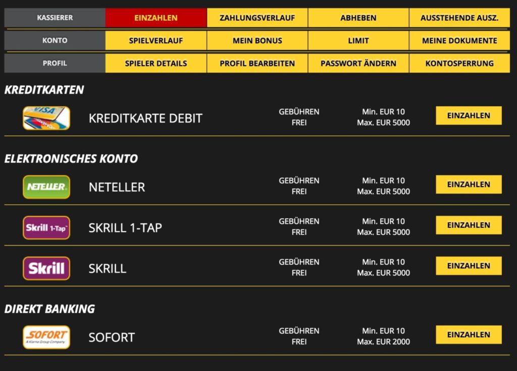 Kreditkarte Für online Casino sofort -604867