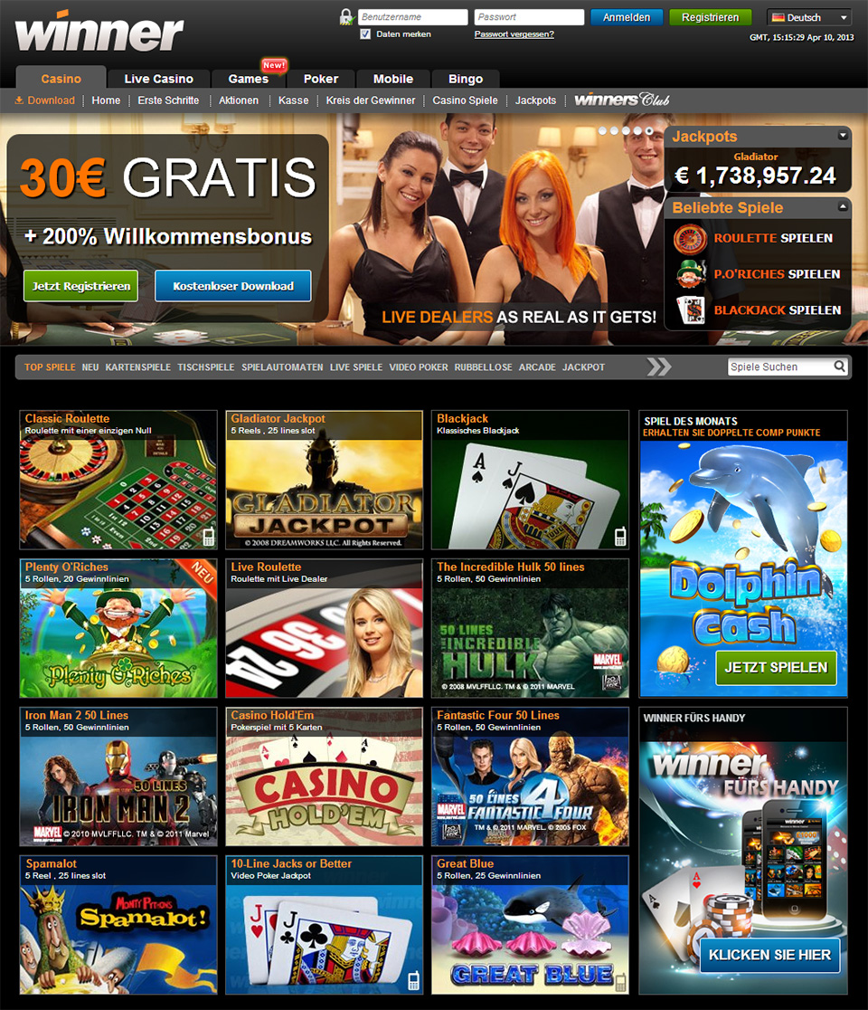 echt casino mit pay pal plus bonus