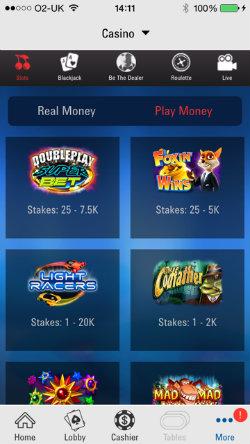 Casino App für iOS -723774