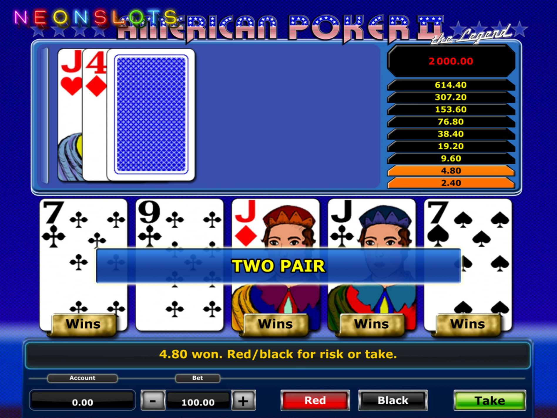 American Poker 2 download Concord -202659