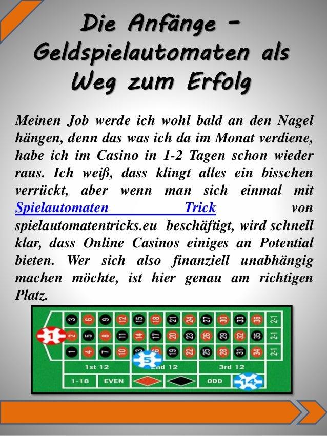 Spielautomaten Tricks -102888