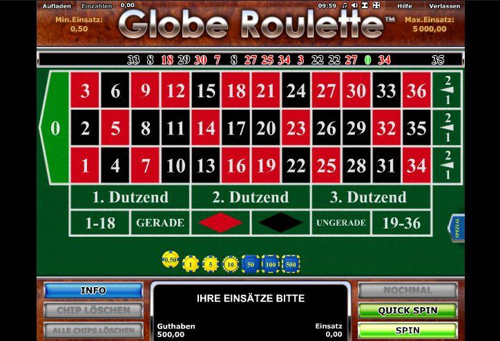 Roulette Kombinationen -615423