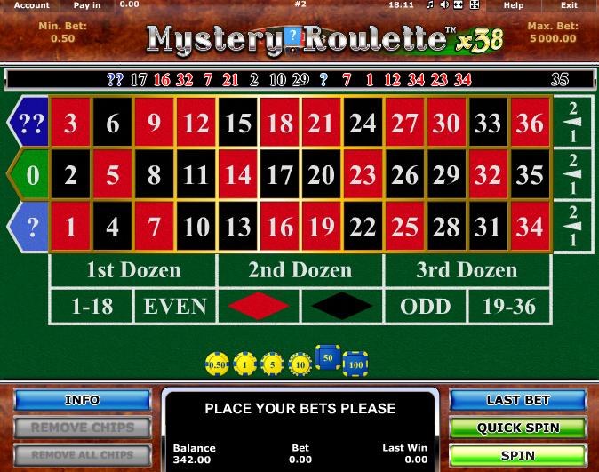 Roulette online -301961