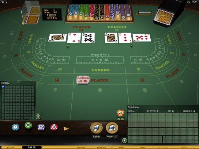 Baccarat free Grand play Winner -923896