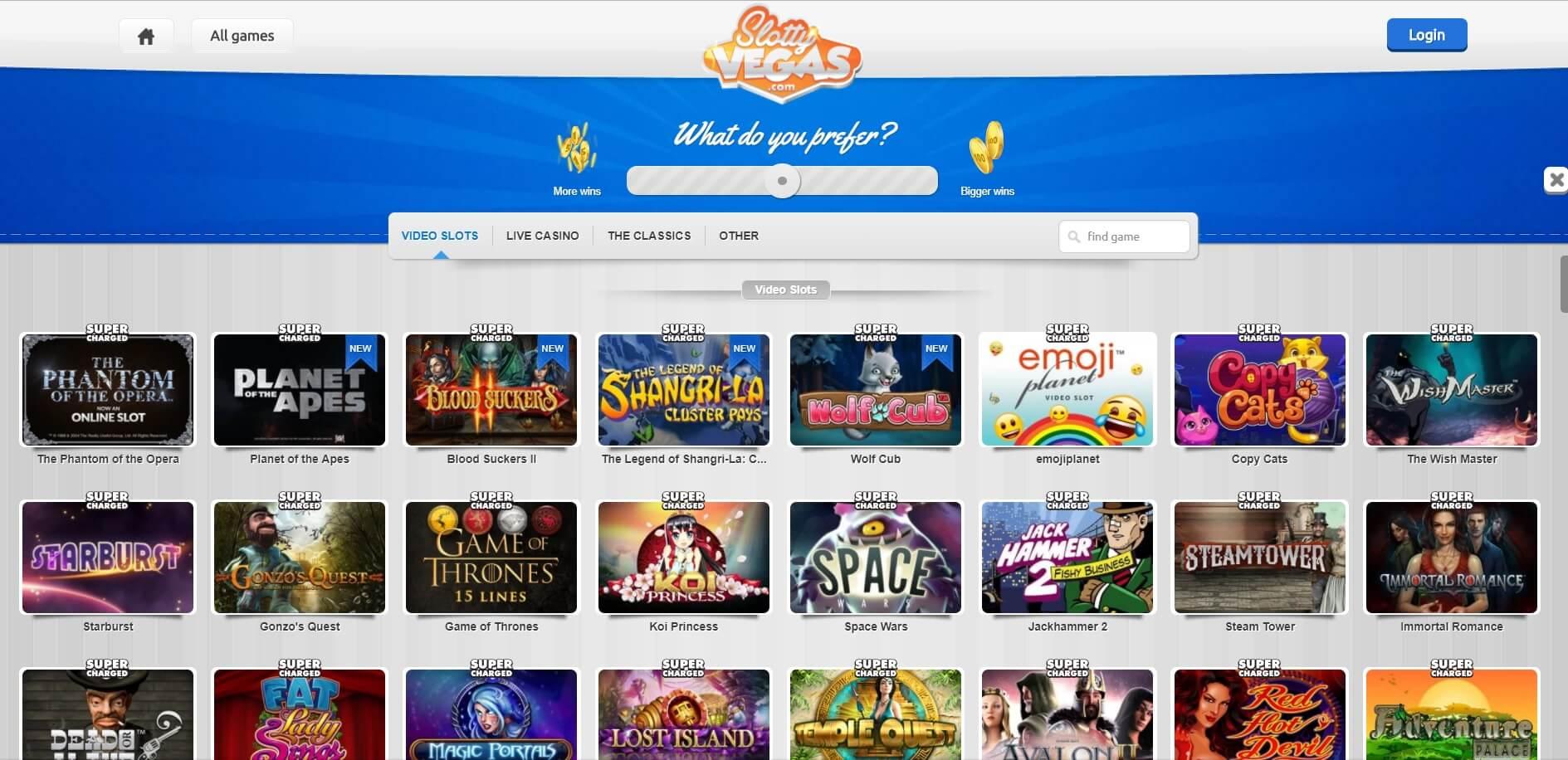 Bonus Sloty Casino Slotty Vegas -159359