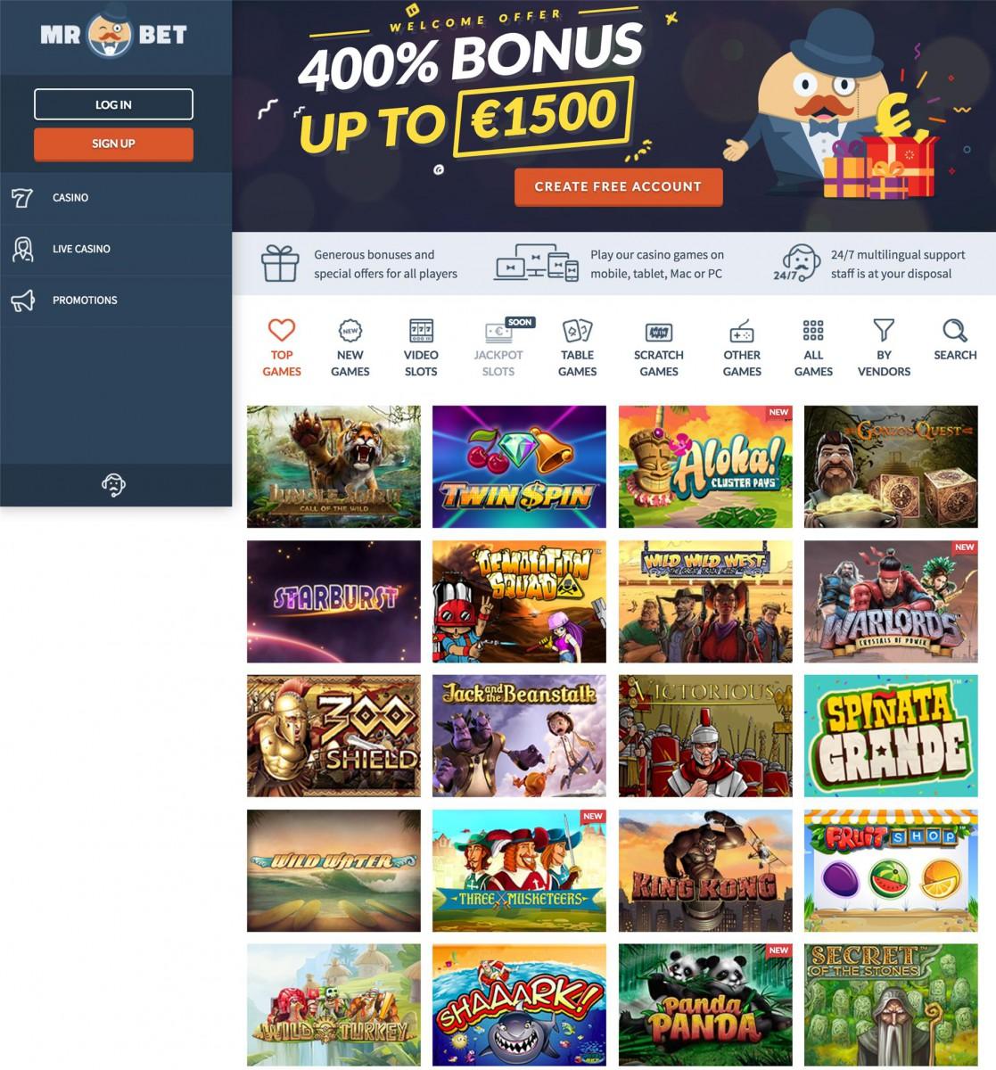Zugelassene online Casinos -389259