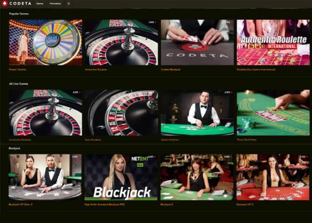 Drückglück Gewinnchancen Codeta Casino -622391
