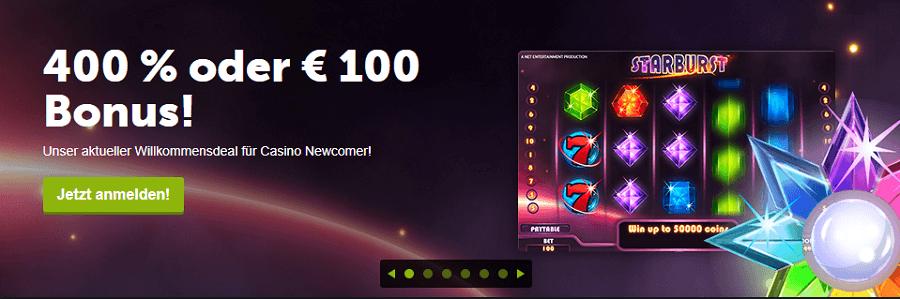 Willkommens Bonus -110472