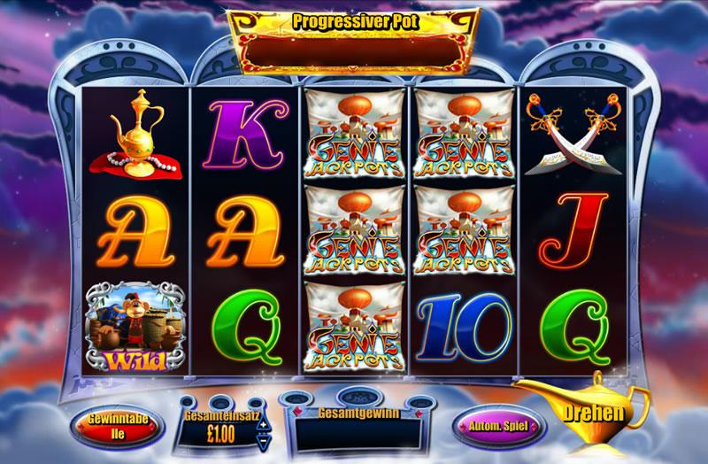 Arabian Casino Genie -255374