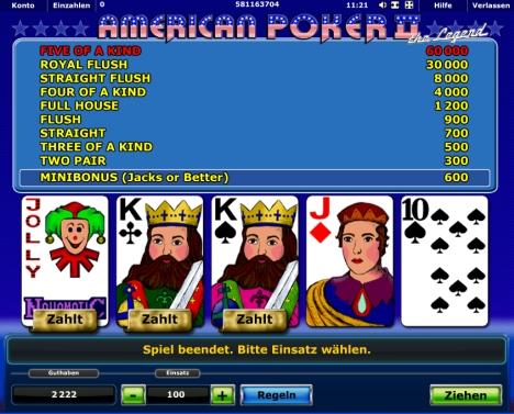 American Poker -790409